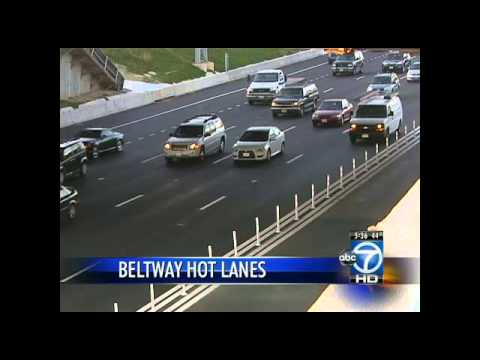 Capital Beltway Express Lanes set to open Saturday