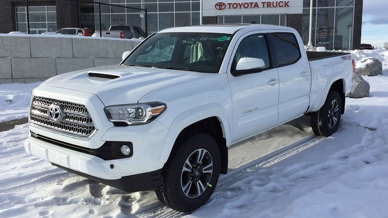 2016 Toyota Tacoma Double Cab Trd Sport 4x4 Long Bed