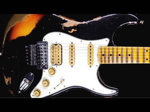 Seductive Blues Groove Guitar Backing Track Jam in C Minor