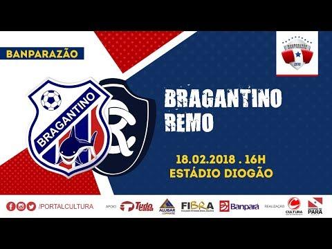 BANPARAZÃO 2018 - BRAGANTINO 3X2 REMO - 18/02/2018