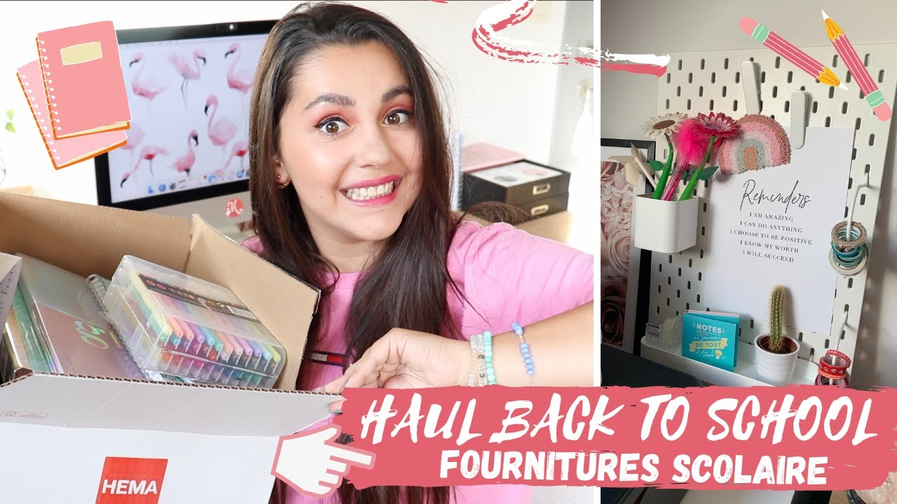 HAUL BACK TO SCHOOL : Fournitures scolaire / bureau : HEMA, ACTION & IKEA