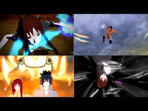 Naruto Shippuden Ultimate Ninja Storm 4 Karin Uzumaki/Uchiha Mod Double Moveset