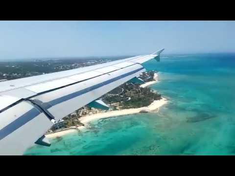 Jetblue Landing at Nassau Airport Bahamas