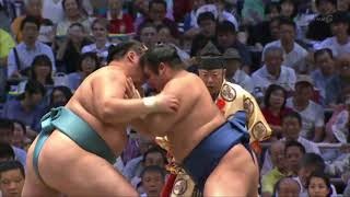 Sumo -Nagoya Basho 2018 Day 12, July 19th -大相撲名古屋場所 2018年 12日目