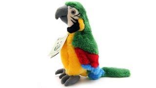 Видео обзоры игрушек - Мягкая игрушка Попугай Ара