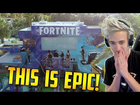 NINJA REACTS FORTNITE MANSION
