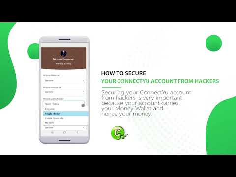 How to secure your ConnectYu account from hackers