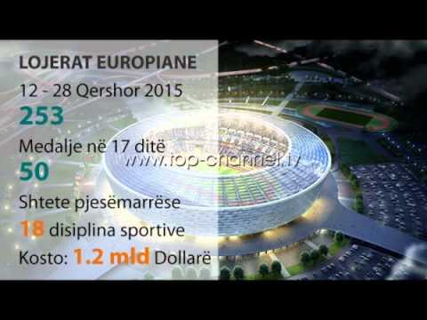Startojnë Lojërat Europiane në Baku - Top Channel Albania - News - Lajme
