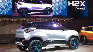 Tata H2x Concept Hornbill SUV First Looks, Features at Geneva Motor Show