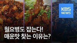 [똑! 기자 꿀! 정보] 강렬한 매운맛 찾는 이유?…월요병도 잡는다! / KBS뉴스(News)