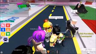 ROBLOX Trolling at Boys and Girls Dance Club 2