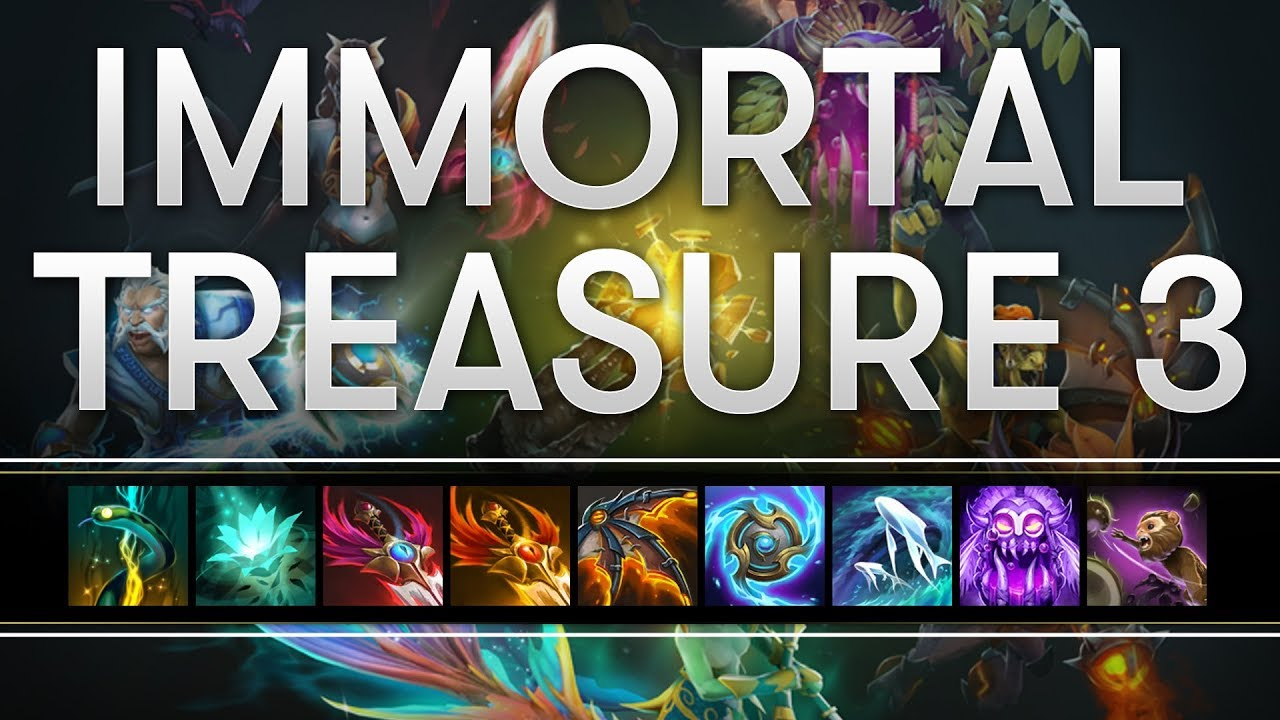Dota 2 S Immortal Treasure 3 Launches: Immortal Treasure 3 Spotlight