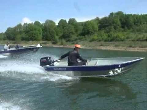 Aluminium boats MARINE 17FSC & MARINE 370U