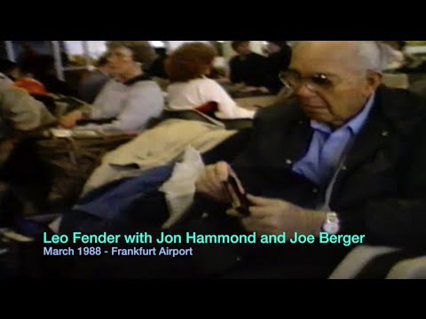 TWA Flight with Leo Fender, Phyllis Fender, Joe Berger, Jon Ha...