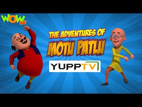 Wow Kidz on Yupp TV | Motu Patlu | PROMO | Launching today thumbnail