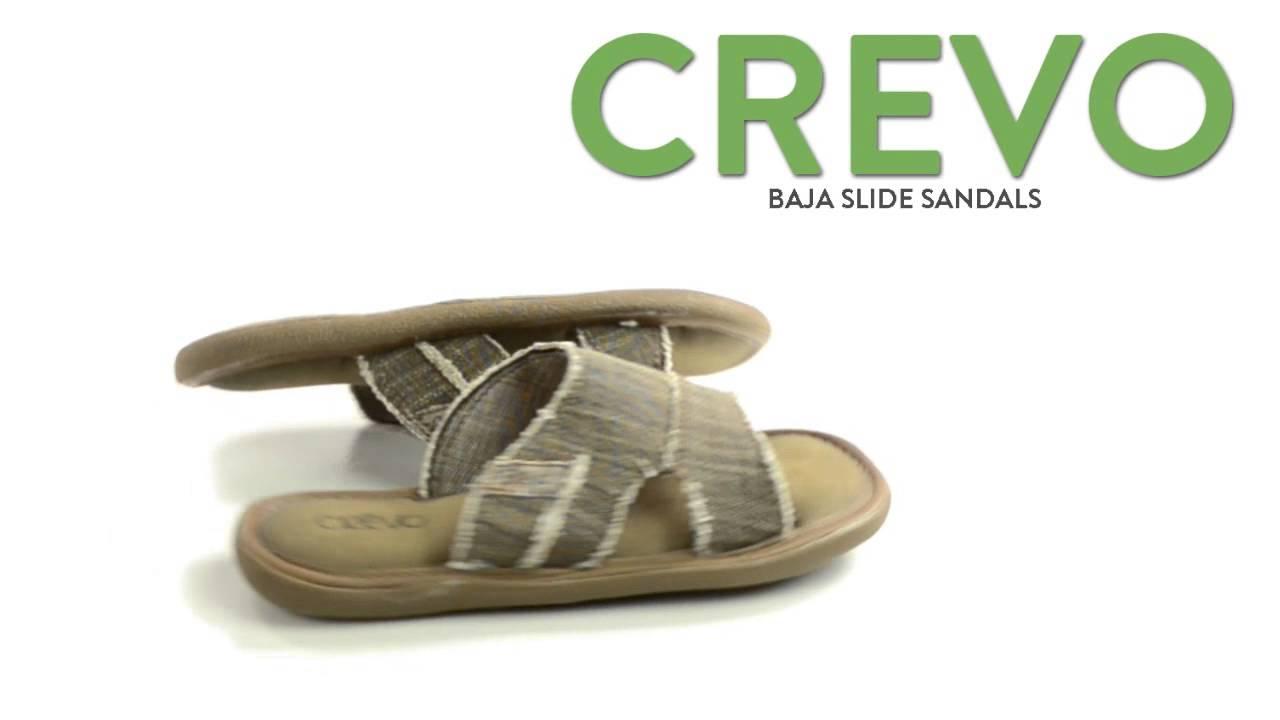 3a2972f739da Crevo Baja Slide Sandals (For Men) - YouTube