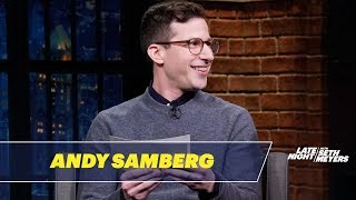 Download Andy Samberg Shares His Rejected Golden Globes Jokes Mp3 and Videos