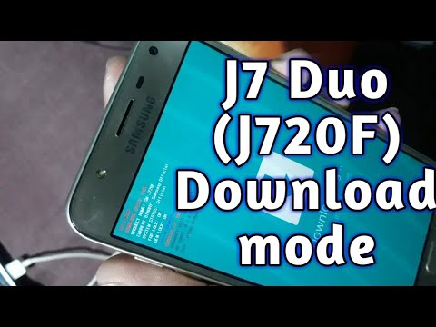 Samsung J7 Duo Download mode sollution