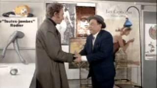 """Film """"Le Distrait"""" (scène Pierre Richard & Paul Préboist)"""