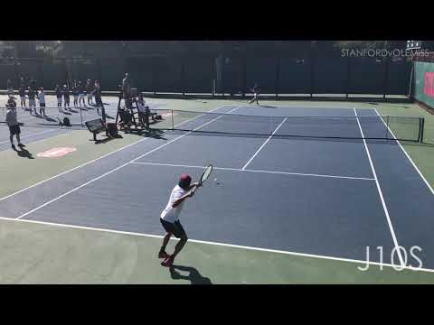 Finn Reynolds (Ole Miss) vs William Genesen (Stanford) NCAA 2nd Round