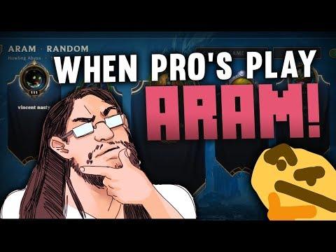 Imaqtpie - WHEN PRO'S PLAY ARAM!