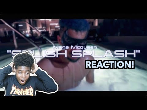 Mega McQueen - Splish Splash (PontiacMadeDDG Diss Track) | OFFICIAL MUSIC VIDEO (REACTION!) 🔥