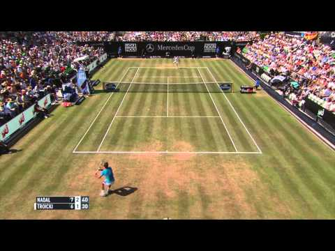Rafael Nadal Wins 66th Title Over Viktor Troicki - Stuttgart 2015