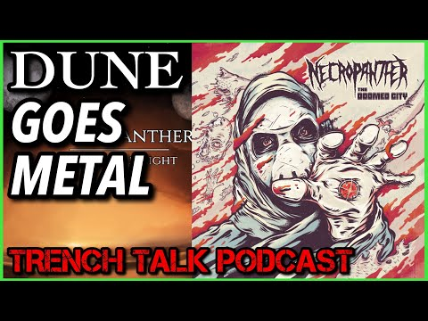 Trench Talk Ep 55: NECROPANTHER on Sci Fi Concept Albums, Blackened Thrash, & Adult Swim