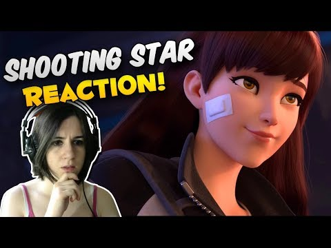 """REACCIÓN A """"Shooting Star"""" ¡el corto animado de D.VA!"""