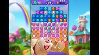 Candy Crush Friends Saga Level 523 (3 stars, No boosters)