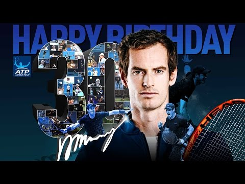 Happy 30th Birthday Andy Murray