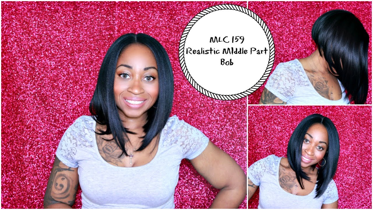 HOW TO ☆ BOMB Middle Part Bob!  45a917519