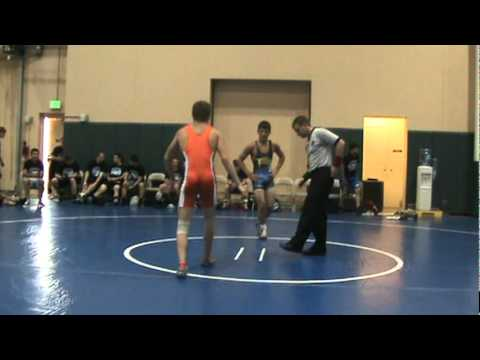 #125 David Pearce(IL) vs Sean Fee(OH) 2011 Disney Duals