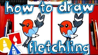 How To Draw Fletchling Pokemon