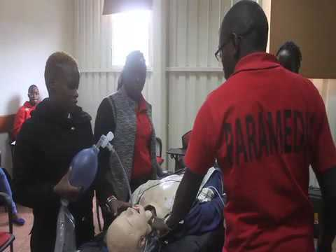 Kenya Red Cross Training School, Joseph Kioko - EMT Paramedic Student