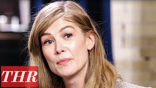 Rosamund Pike & Jamie Dornan Talk Character's Physicality in 'A Private War' | TIFF 2018