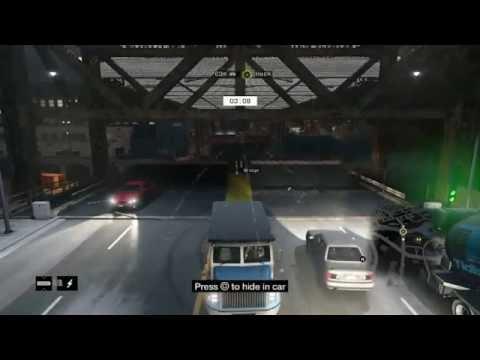 Watch Dogs Hacking- Battle on the Bridge! (vs. RUE_21)