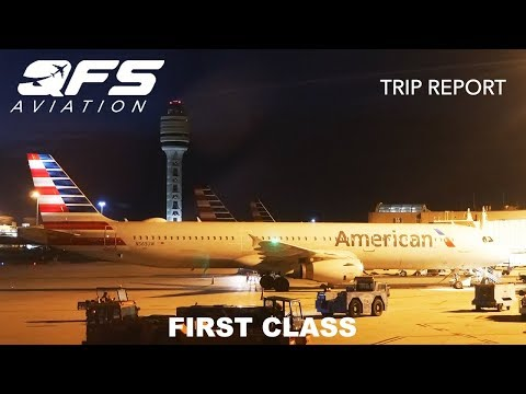 TRIP REPORT | American Airlines - A321 - Orlando (MCO) To Dallas (DFW) | First Class