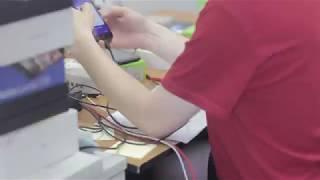 Работа отдела проверки и диагностики мобильной техники