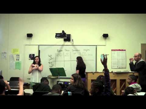 Teaching Artist Project, Longy School of Music of Bard College.