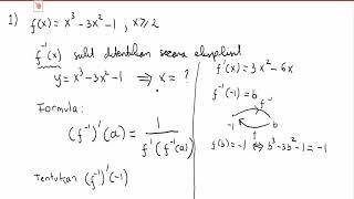Kumpulan Contoh Soal: Contoh Soal Invers Fungsi Komposisi