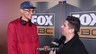 THE TOWERING INFERNO! UNDEFEATED 6 FOOT 7 BOXER SEBASTIAN FUNDORA ON HOW THE HELL HE MAKES 154LBS!