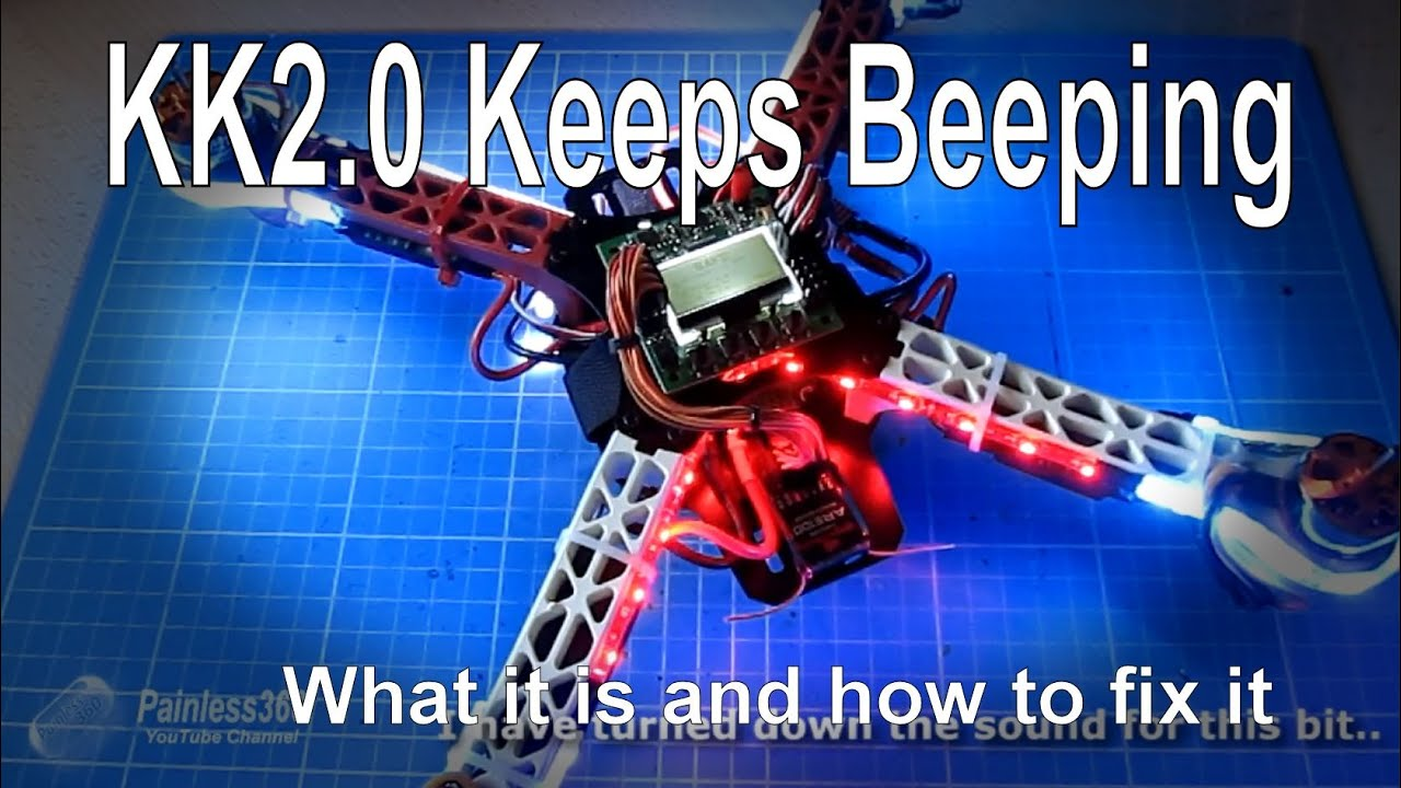multirotor quick tips kk2 0 kk2 1 constantly beeping [ 1280 x 720 Pixel ]