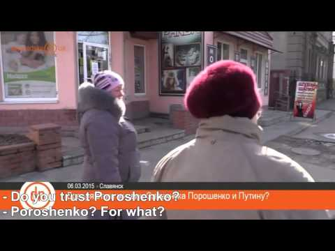 Do you trust Poroshenko or Putin?