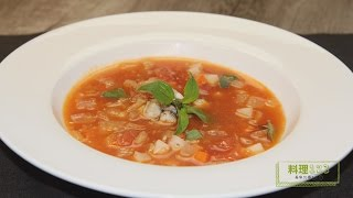 番茄蛤蜊蔬菜湯   Tomato and Clam Soup   料理123