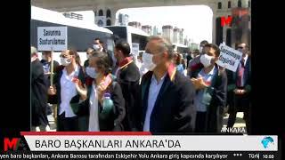 BARO BAŞKANLARI ANKARA'DA | ALKIŞLI PROTESTO