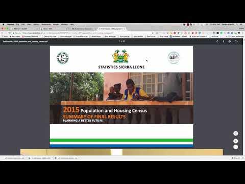 Demo of Sierra Leone Open Elections Data Platform Part 2