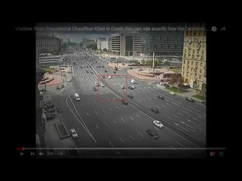 Vladimir Putin Presidential Chauffeur Kiled In Crash - OFFICIAL RUSSIA - Vladimir Putin 2016