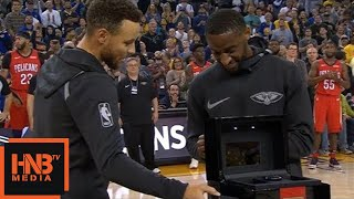 Ian Clark Received The Champion's Ring / GS Warriors vs Pelicans