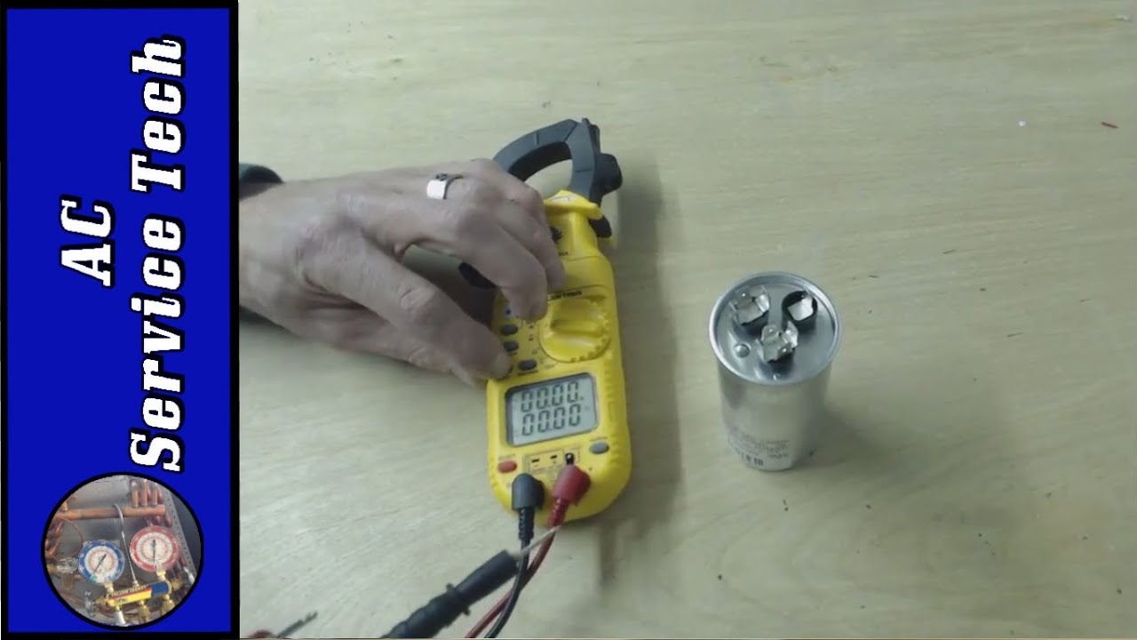 Dual Capacitors  How To Identify  Test  Wire  And Read A